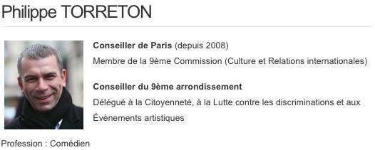 Torreton-ficheParis