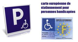 Handicap-stationnement