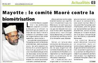 Biométrie-Mayotte