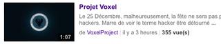 Voxel-Youtube