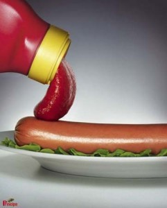Saucisse-Ketchup